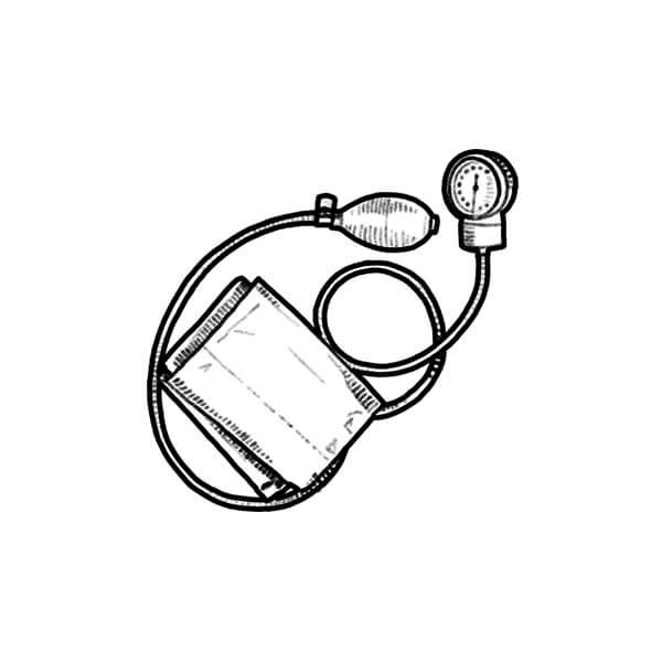 Hospital Bracelet illustration