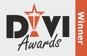 Winner of the Divi Awards